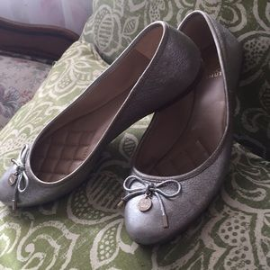 Leather upper lunna flats